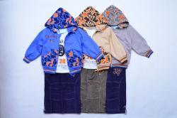 Детский костюм тройка с вельветовыми брюками